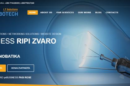 Website design Zimbabwe
